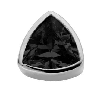 Enchanted triangle zirkonia black
