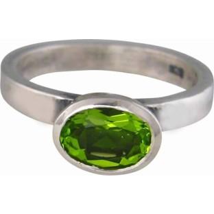 Charmins green oval diamond XL24