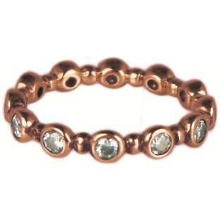Charmins turn around diamond rose gold XL76