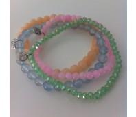 Biba armbanden set 7 beach colors