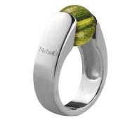Melano Cateye zilveren ring 10mm