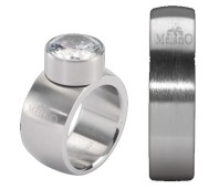 Melano Stainless Steel ring 6 mm rond model