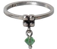 Charmins dangling diamond green