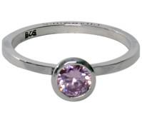 Charmins round diamond pink 135