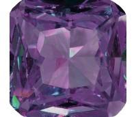 Melano square zetting zirkonia purple
