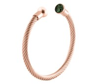 Melano Twisted armband rose gold