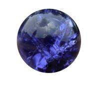 Flow glas cracked purple