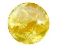 Flow glas cracked yellow