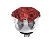 Melano Twisted zetting crown china red
