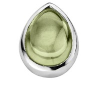 Enchanted drop cabochon olivine