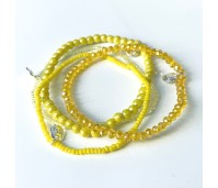 superdeal Biba armbandenset geel