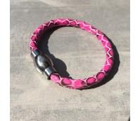 Qudo Teulada armband roze snake