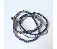 Feestdagenspecial Biba armbandenset purple