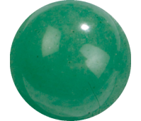 Melano Cateye semi precious stone balletje jade