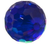 Melano Cateye stone zirkonia facet blue