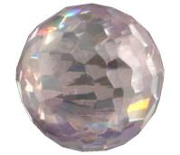 Melano Cateye stone zirkonia facet crystal