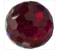 Melano Cateye stone zirkonia facet dark red