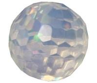 Melano Cateye stone zirkonia facet moonstone