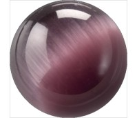 Melano Cateye stone balletje dark purple
