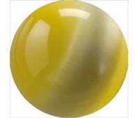 Melano Cateye stone balletje yellow