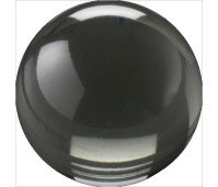 Melano Cateye stone zirkonia transparent black