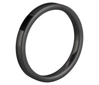 Melano Ceramic Friends ring black matt