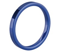 Melano Ceramic Friends ring blue gloss