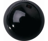 Melano Cateye semi precious stone balletje onyx