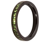 Melano Friends  ring black peridot