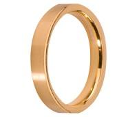 Melano Stainless Steel aanschuifring gold mat