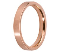 Melano Stainless Steel aanschuifring rose gold glans
