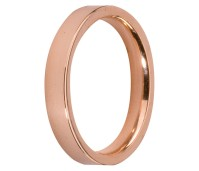 Melano Stainless Steel Friends ring rose gold mat