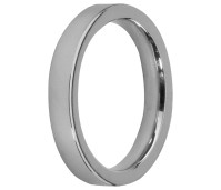 Melano Stainless Steel Friends ring stainless steel glans