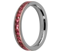Melano Stainless Steel Friends  ring stainless steel rose