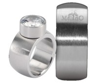 Melano Stainless Steel ring 10 mm rond model