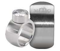 Melano Stainless Steel ring 12 mm rond model