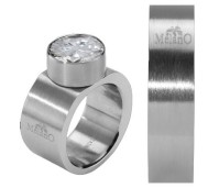 Melano Stainless Steel ring 6 mm vlak model
