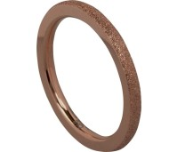 Charmins Complement aanschuifring sanded choco OHR46