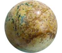 Melano Cateye semi precious stone balletje picture jasper