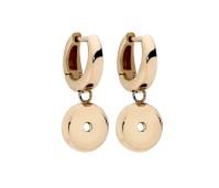 Qudo interchangeable oorbellen basic gold