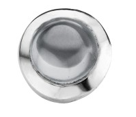 Enchanted round cabochon grey