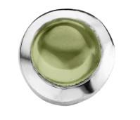 Enchanted round cabochon olivine