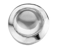 Enchanted ringserie round cabochon white