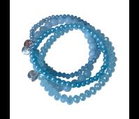 Biba armbanden set 14 baby blue