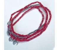Biba armbanden set 1 rood