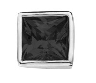 Enchanted square zirkonia black