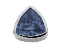 Enchanted triangle zirkonia dark blue