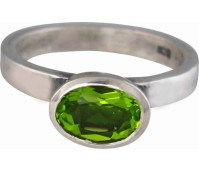 Charmins green oval diamond XL24