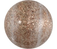 Melano Cateye stone zirkonia glitter coffee